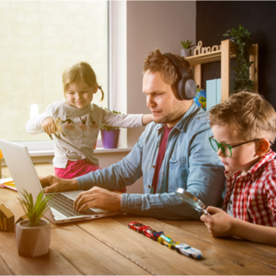 Michigan Employee Parents Working from Home Back to School